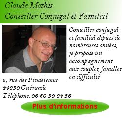 Fiche praticien claude mathis Conseiller Conjugal et Familial
