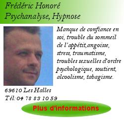 Carte de visite F Honoré 2
