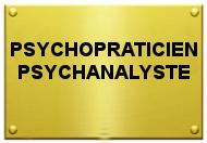 Plaque Psychopraticien Psychanalyste