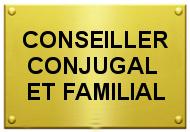 Plaque Conseiller Conjugal et Familial